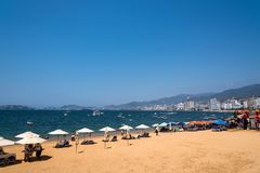 Acapulco-Schacht Mexiko Stockbilder