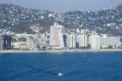 Acapulco-Seeseite Lizenzfreie Stockfotos