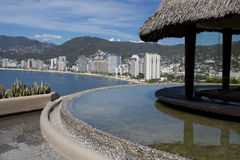 Acapulco Skyline. Scenic view of the Acapulco Skyline Stock Photography