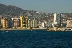 Acapulco-Skyline Lizenzfreie Stockbilder