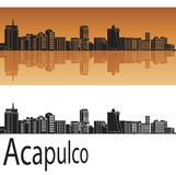 Acapulco skyline Royalty Free Stock Images