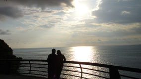 Acapulco-Sonnenuntergang Lizenzfreies Stockfoto