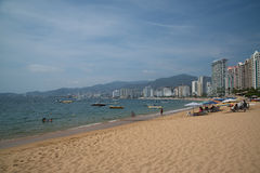 Acapulco-Strand Stockbilder