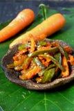 Acar -马来西亚食物 库存图片
