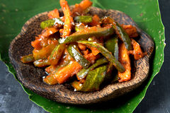 Acar - alimento malese Fotografia Stock
