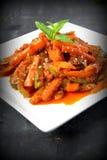 Acar - comida malasia fotos de archivo