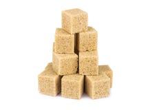 Açúcar de bastão de Brown Imagem de Stock Royalty Free