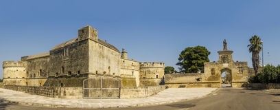 Acaya castle lecce Royalty Free Stock Photo