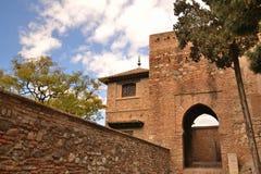 Acazaba del castillo imagen de archivo libre de regalías