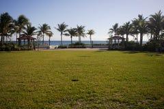Accès à la plage Image stock