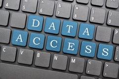 Accès aux données illustration libre de droits