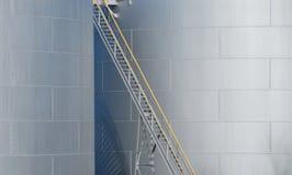 Accès de surface de stockage d'huile Image stock