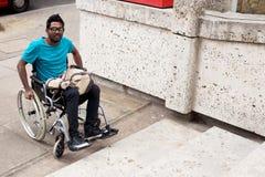 Accès handicapé image libre de droits