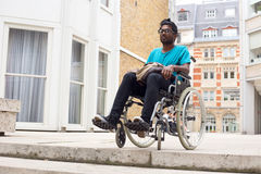 Accès handicapé images libres de droits