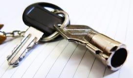 accédez aux clés Photo libre de droits