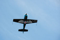 Accélération acrobatique aérienne Photo stock