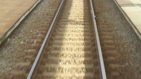 Accélération de chemin de fer banque de vidéos