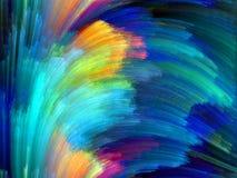 Accélération de couleur image stock