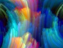 Accélération de couleur images stock