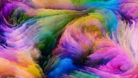 Accélération de la peinture de Digital Images libres de droits
