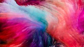 Accélération de la peinture de Digital Image stock