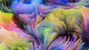 Accélération de la peinture de Digital Photos libres de droits