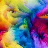 Accélération de la peinture de Digital Photos stock