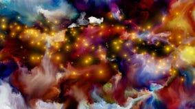 Accélération de peinture de Digital Image stock