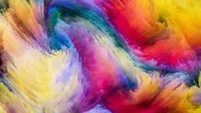 Accélération de peinture de Digital Photo libre de droits