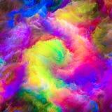 Accélération de peinture surréaliste Images stock