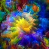 Accélération de peinture surréaliste Image stock