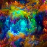 Accélération de peinture surréaliste Photo libre de droits