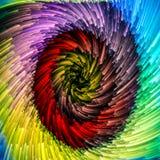 Accélération de vortex vibrant Images libres de droits