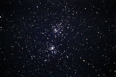 Acca Chi Persei Star Cluster Stock Photo