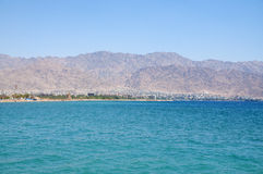 Accaba, Jordania Imagen de archivo