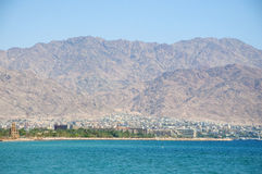 Accaba, Jordania Fotos de archivo libres de regalías