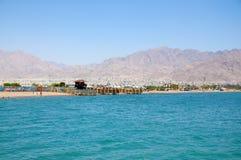 Accaba, Jordanie Image libre de droits