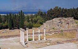 Accademia antica di Asklepion Immagine Stock