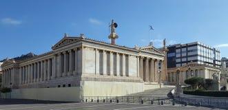 Accademia di Atene, Grecia fotografia stock libera da diritti
