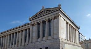 Accademia di Atene, Grecia fotografie stock