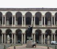 Accademia di Brera en Milán foto de archivo libre de regalías