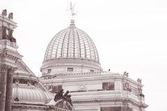 Accademia di Dresda delle belle arti Immagine Stock