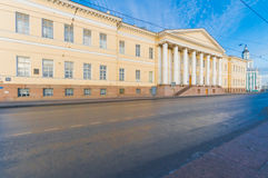 Accademia di Pietroburgo delle scienze Immagine Stock