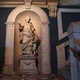 Accademia rzeźba w Wenecja zdjęcia royalty free