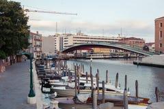 Accademia-` s Brücke in Venedig Lizenzfreie Stockbilder