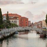 Accademia& x27; s-Brücke in Venedig Stockbilder