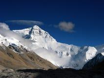 Accampamento basso al Mt. Everest Fotografie Stock Libere da Diritti