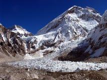 Accampamento basso del Everest del sud Fotografie Stock Libere da Diritti