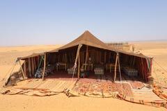 Accampamento del deserto Immagini Stock