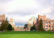 Accampamento dell'università Immagine Stock